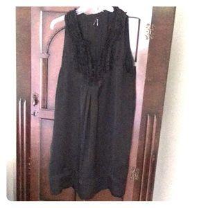 Cute sleeveless black dress